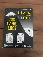 Magiques Jumbo Playing Cards Over the Hill Large Numbers Gag Gift Complete