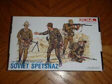 1/35th Dragon DML Soviet Spetsnaz Figures Mint in Open Box. World Elite Force