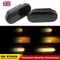 Dynamic Side Indicators Turn Signal Black for VW GOLF LUPO T5 LEON IBIZA MK4