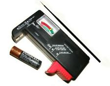 Universal Battery Tester - Energizer Duracell Batteries +Corrosion Cleaner Probe
