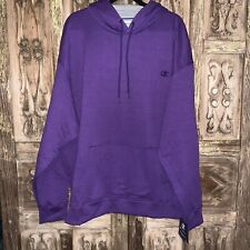 NWT Champion Men's Size 3XL Hooded Sweatshirt Purple Front Pocket