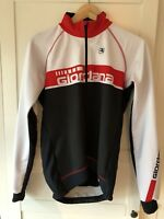 Giordana FRC Jacket White Size Medium Excellent Condition
