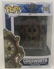 Funko Pop Disney Beauty and the Beast Cogsworth Vinyl Figure Toy #245