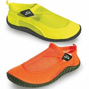 Land & Sea Fluoro Aqua Shoes (Reef, Fishing, Beach)