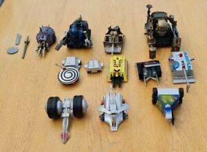 Huge Lot Of Large Robot Wars Pull Back Robots House Robots & Mr Psycho Included