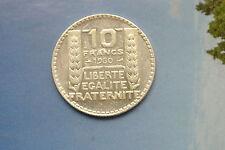 RARE SPL 10 FRANCS TURIN 1930 qualité RARE COTE 50 EURO