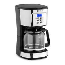 Kaffeemaschine Filterkaffee Filterkaffeemaschine Permanentfilter LCD 1,5 L
