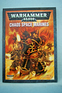 Codex: -  Chaos Space Marines - Warhammer 40,000 - 104 pages