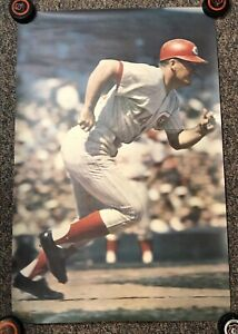 Vintage 1968 Sports Illustrated Poster Pete Rose Reds Malcolm Emmons 3N1