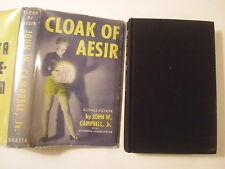 Cloak of Aesir, John W Campbell, Shasta, DJ, 1952, 1st Edition