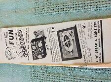 m89b ephemera 1950s advert spears games j w spear floundering cappit