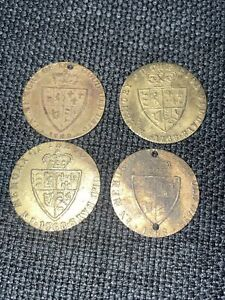 4-1768 George III Memory Of The Good Old Days Dei Gratia Tokens