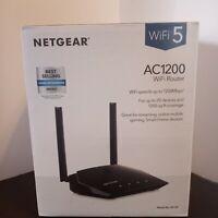 Netgear AC1200 Dual Band WiFi Router- Black (R6120)