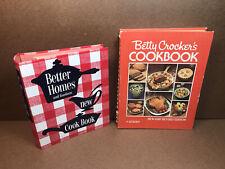 Betty Crocker Cookbook New & Revised 1978/ Better Homes & Gardens New Cookbook
