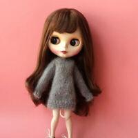 Cute Dolls Handmade Long Sleeve Sweater For Blythe Azone Licca Dolls Accs