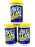 3-Pack Lot Oxi Clean Versatile Stain Remover 3.9 lb 84 Loads Laundry Detergent