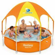 Bestway Splash-in-Shade Zwembad Zwem Bad Luifel Zonnescherm Familiezwembad