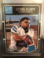 2016 Panini Donruss Ezekiel Elliot Rated Rookie RC #368 Dallas Cowboys
