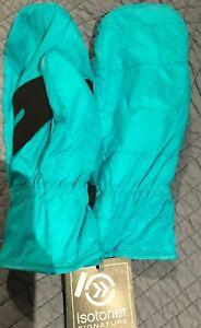 Isotoner Signature Smartouch Sleek Heat Women Quilted Fashion Gloves Medium New