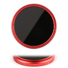 FOTGA 77mm Slim Fader ND Filter Variable ND2 ND4 ND8 to ND400 for Canon Red Ring