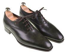 $1750 NEW John Lobb Prestige Becketts Green Leather Wholecut Oxfords Shoes UK 11