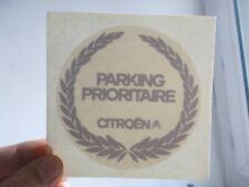 Autocollant PARKING PRIORITAIRE CITROËN