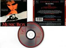 MUSIC BOX - Lange,Costa-Gavras (CD BOF/OST) Philippe Sarde 1989