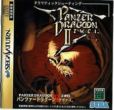 Panzer Dragoon Zwei SEGA Saturn SS Import Japan