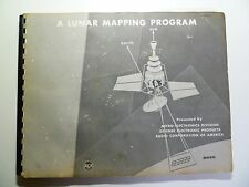 A Lunar Mapping Program Booklet Manual JPL RCA Atlas Ranger Vintage Space