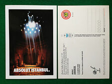 Pubblicità Advertising Cartolina vodka Italy ABSOLUT ISTANBUL 151/2343 variante2