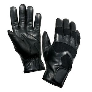 Rothco 4480 Cold Weather Leather Shooting Gloves - Breathable Waterproof Insert