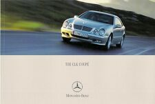 Mercedes-Benz CLK Coupe 2000-01 UK Market Sales Brochure 200K 230K 320 430 55AMG