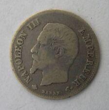 20 centimes NAPOLEON III tête nue 1860 BB