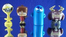 MINI CARTOON NETWORK FOSTERS HOME FOR IMAGINARY FRIENDS SET 4 FIGURE DECORATIONS