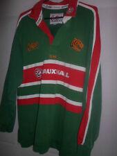 Leicester Tigers 2001-2003 Casa Unión de Rugby de Superdry de manga corta para Adultos Med (31586)