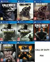 Call Of Duty PS4 Assorted Game BUNDLE UP MINT Super Fast Delivery