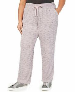 Ideology Women's Fitness Running Sweatpants Shimmer Pink 100049386WN Sz Plus 3X