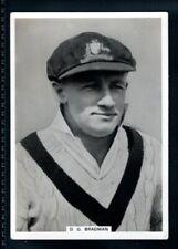 More details for rare ardath england v australia test series 1938 - don bradman-type card