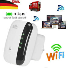 300 Mbit/s WLAN Repeater WLAN Signal Verstärker Access Point WiFi Booster Weiß