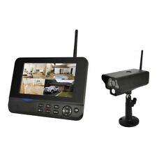 Videoüberwachung mit 1 Kamera Funk System Überwachungssystem Comag SecCam11 IP