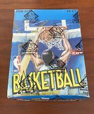 1989-90 Fleer NBA Basketball 24-ct Rack Pack Box BBCE - Michael Jordan Box POP 1