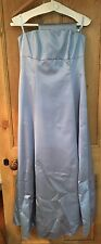 Full Length Blue Dress By Debut/Size 12/Occasion/Formal/Prom/Dressy/Debenhams