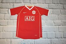 Manchester united shirt nike jersey RONALDO #7 size large  Lb 12/13 y AIG