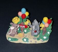 Charming Tails Teeny Tiny Tails Off To The Fair 80/1 Excellent Condition