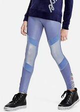 Nwt Justice  Velour Foil  Moto  Leggings Size 6/7