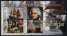 Lesotho 1381-2 MNH Battle of Trafalgar, Ships, Admiral Nelson