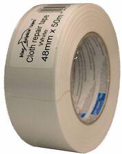 Premium Tape DUCT 190 48mm x 50m Weiß Gewebeband Klebeband Steinband Gaffa