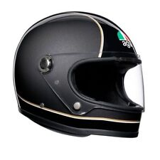 CASCO INTEGRALE VINTAGE SUPER AGV X3000 - BLACK - GREY - YELLOW TAGLIA M/L