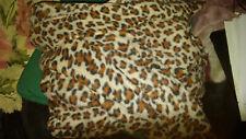 "Animal Print Leopard print snuggie 100% polyester size 71"" x 54"""