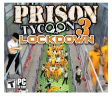 Prison Tycoon 3: Lockdown  (PC, 2007) Brand New in Box!!!